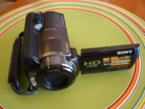Camcorder with Night Vision